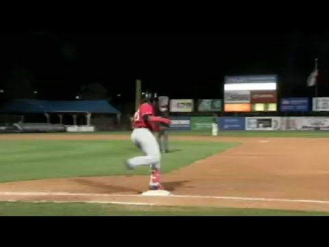 Valdimir Guerrero Jr. Blasts A Solo Shot To Left