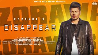 Disappear (Motion Poster) Zorawar | Releasing Soon | White Hill Music