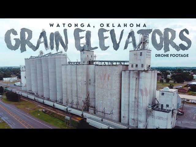 Watonga, OK Grain Elevators / Drone Footage / July 21, 2020