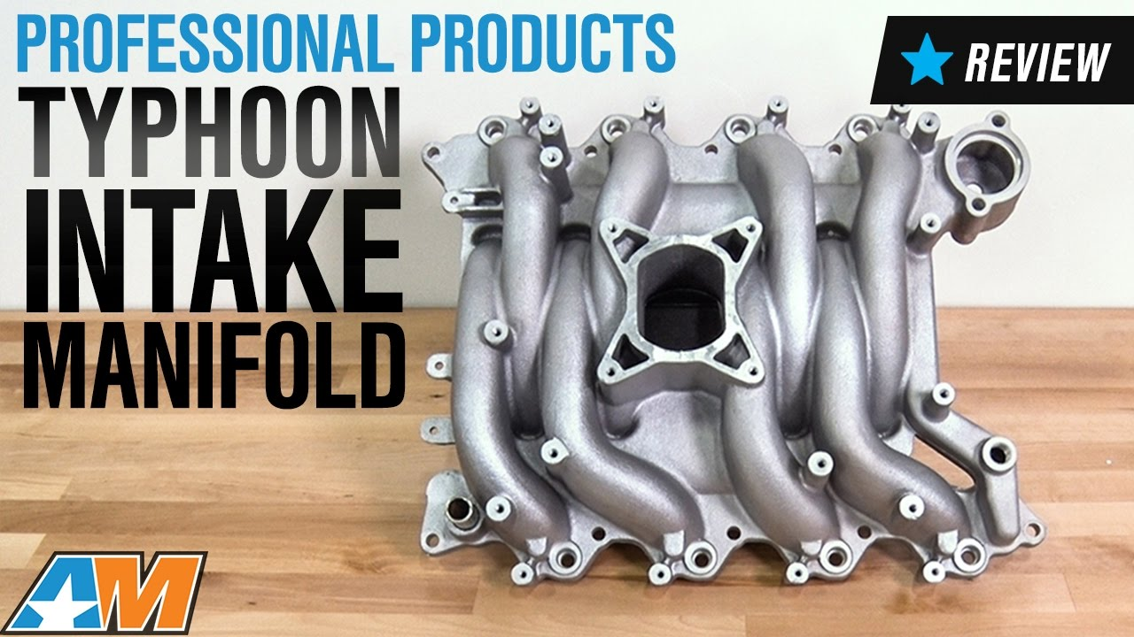 1999 2004 Mustang Gt Professional Products Satin Typhoon Intake Manifold Review
