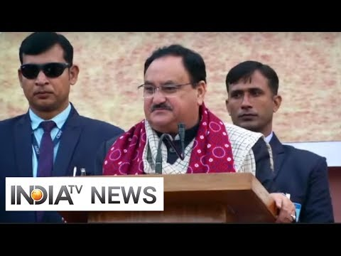 Congress knows nothing about CAA, they're misleading country: JP Nadda