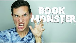BOOK MONSTER! | BOOKTUBEATHON DAY ONE