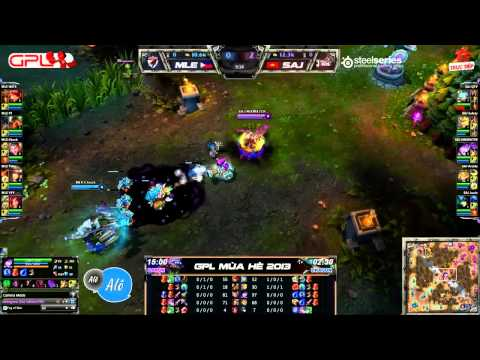 [GPL 2013 Mùa Hè] [Tuần 10] Manila Eagles vs Saigon Jokers [21.07.2013]