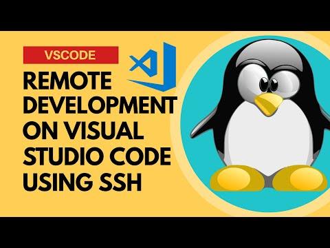 vscode remote development