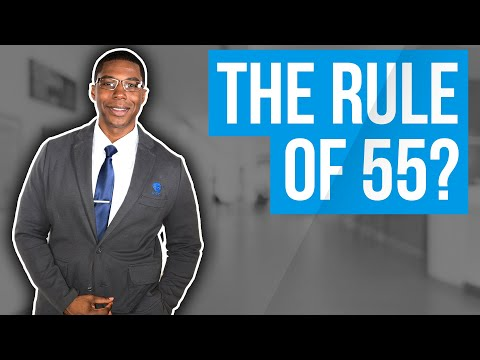Rule of 55...how to take early 401k withdrawals before age 59 1/2?