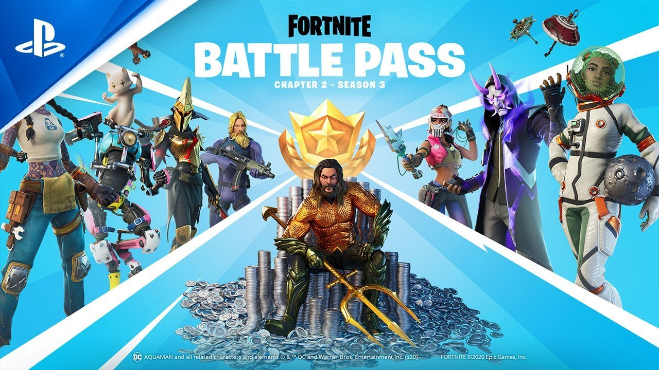 Fortnite Chapter 2 Season 3 Battle Pass Gameplay Trailer Ps4 Youtube