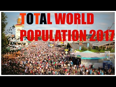 Total World Population 2017