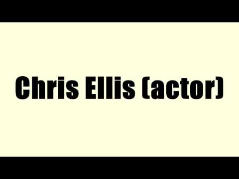 Chris Ellis (actor)