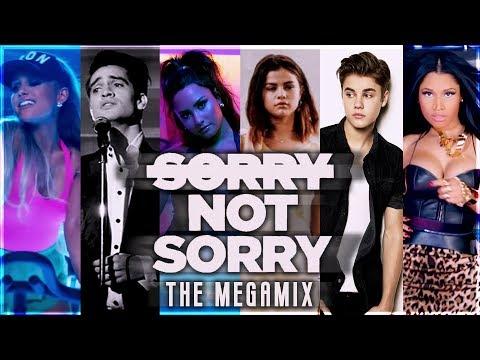 SORRY NOT SORRY  The Megamix ft Justin Bieber Nicki Minaj Dua Lipa Katy Perry