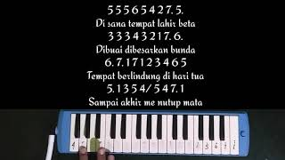 LAWA02 - Indonesia Pusaka | Not Pianika