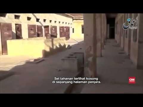 Anggota ISIS Mengelilingi Penjara Tadmur, Palmyra