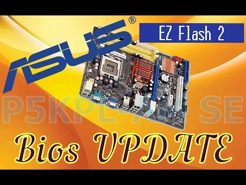 Asus Motherboard Bios Update. Asus Anakart Bios Güncellemesi. P5KPLAM-SE, EZ Flash 2 ile güncelleme.