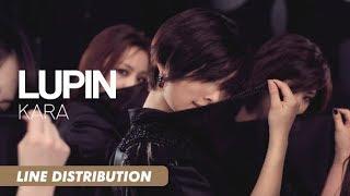 kara 카라 lupin 루팡 line distribution