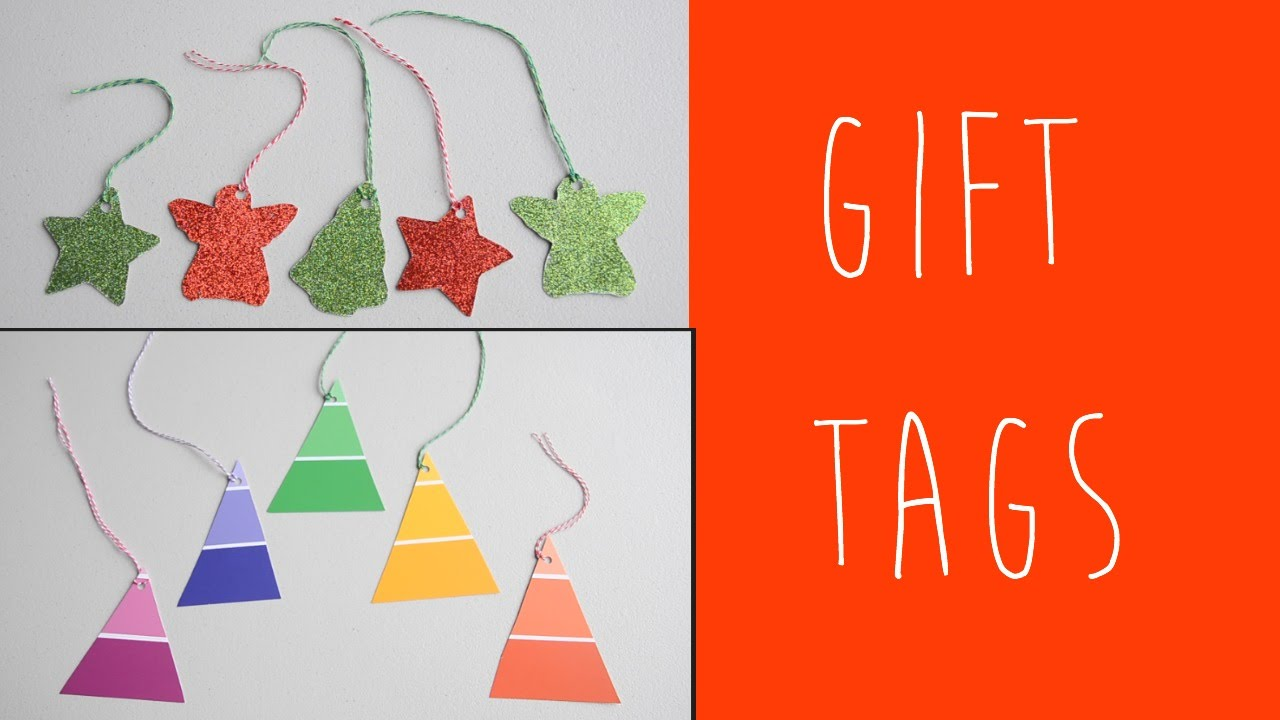 Diy Christmas Gift Tags Easy Bright Ali Coultas Youtube
