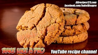 SOFT Sugar Top Gingerbread Crackle Cookies Recipe By BakeLikeAPro