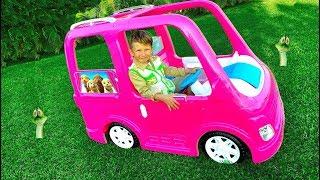ذهب Senya التخييم في سيارة جديدة