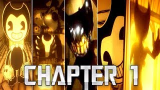 *NEW* Bendy and the Ink Machine All Jumpscares 1