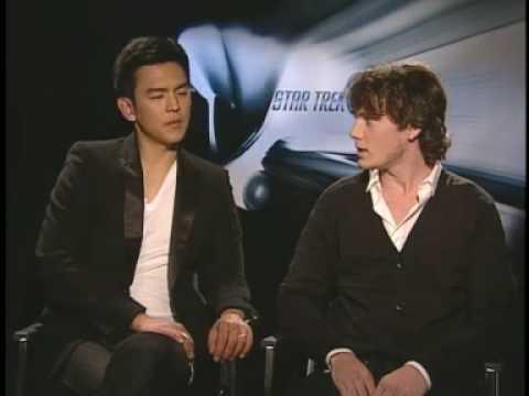 """Anton Yelchin and John Cho Interview for """"Star Trek"""" 2009"""