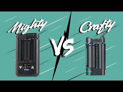 Mighty VS Crafty Vaporizer Comparison Review – Tools420