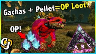 BEST WAY FOR INFINITE OWL PELLETS + GACHA TAME! || ARK EXTINCTION (Unofficial Small Tribes) Ep 6!