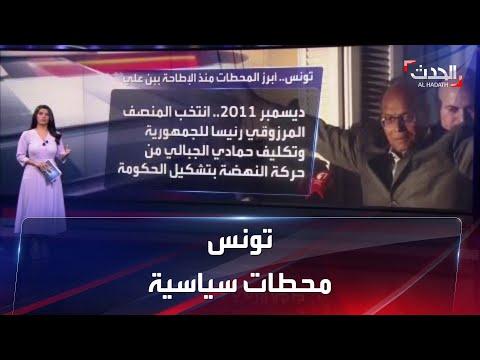 أبرز المحطات التي مرت بها تونس منذ الإطاحة ببن علي