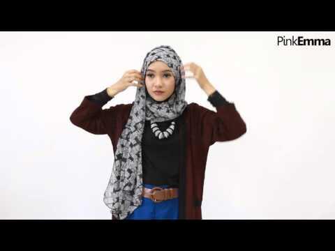 Zaskia Sungkar Tutorial Hijab Segi Empat : Gaya Casual ...