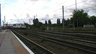 trains and tones at doncaster station part 2 25/7/09