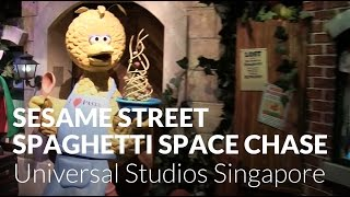 Sesame Street Spaghetti Space Chase - Universal Studios Singapore