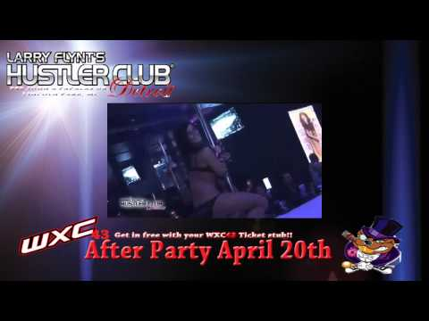 April 20th Warrior Xtreme Championships After Party @ Hustler Club Detroit!!