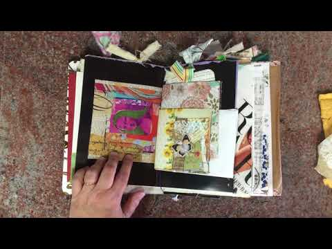 Flowish and Trashy Junk Journal Swap from Melody M.