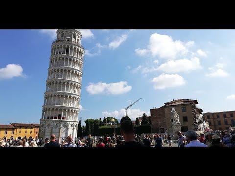 Pisa City Walk In 4K
