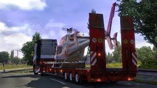 Euro Truck Simulator2 [FullHD|PC] #ETS2 Перевірка системи на стабільність! Ковзанки з Михой на 1 серваці й
