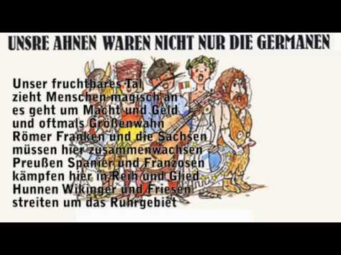 """RUHRSCHNELLWEG 2011: """"Unsre Ahnen waren nicht nur die Germanen"""" / Ruhrpott is in"""