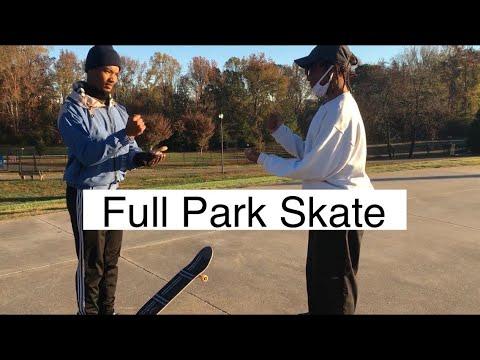 FULL PARK GAME OF SKATE AT SLS SKATE PARK |