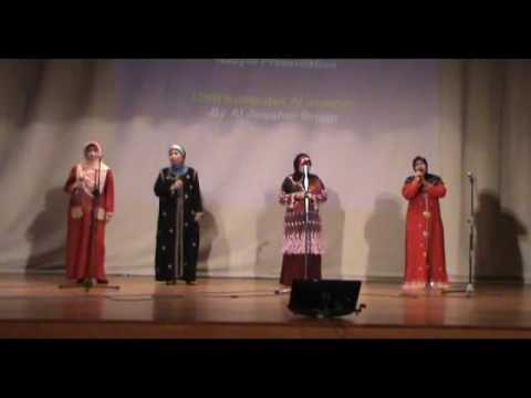 """Kembara Di Tanah Gersang"" Nasyid Song By Al Jawaher @ Salam Aidiladha 2009"