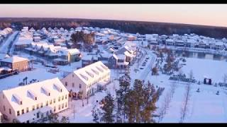 Download Video CHARLESTON SNOW STORM 2018 DRONE FOOTAGE IN 4K: NEXTON, SC MP3 3GP MP4