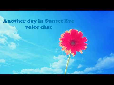 ASMR Intensifies | Sunset Eve Voice Chat#1 (Discord)