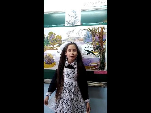 Изображение предпросмотра прочтения – СамираХасбиева читает произведение «Весенние голоса» (Карим Мустай)