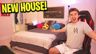 I finally moved into the new house!