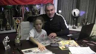 Road to Russia 2018 - Kudełkowy Unboxing Puszki z saszetkami -Prezentacja Albumu