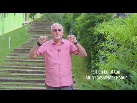 Prof. Dr. Erhan Erkuttan 15 Altın Tavsiye - Bonus