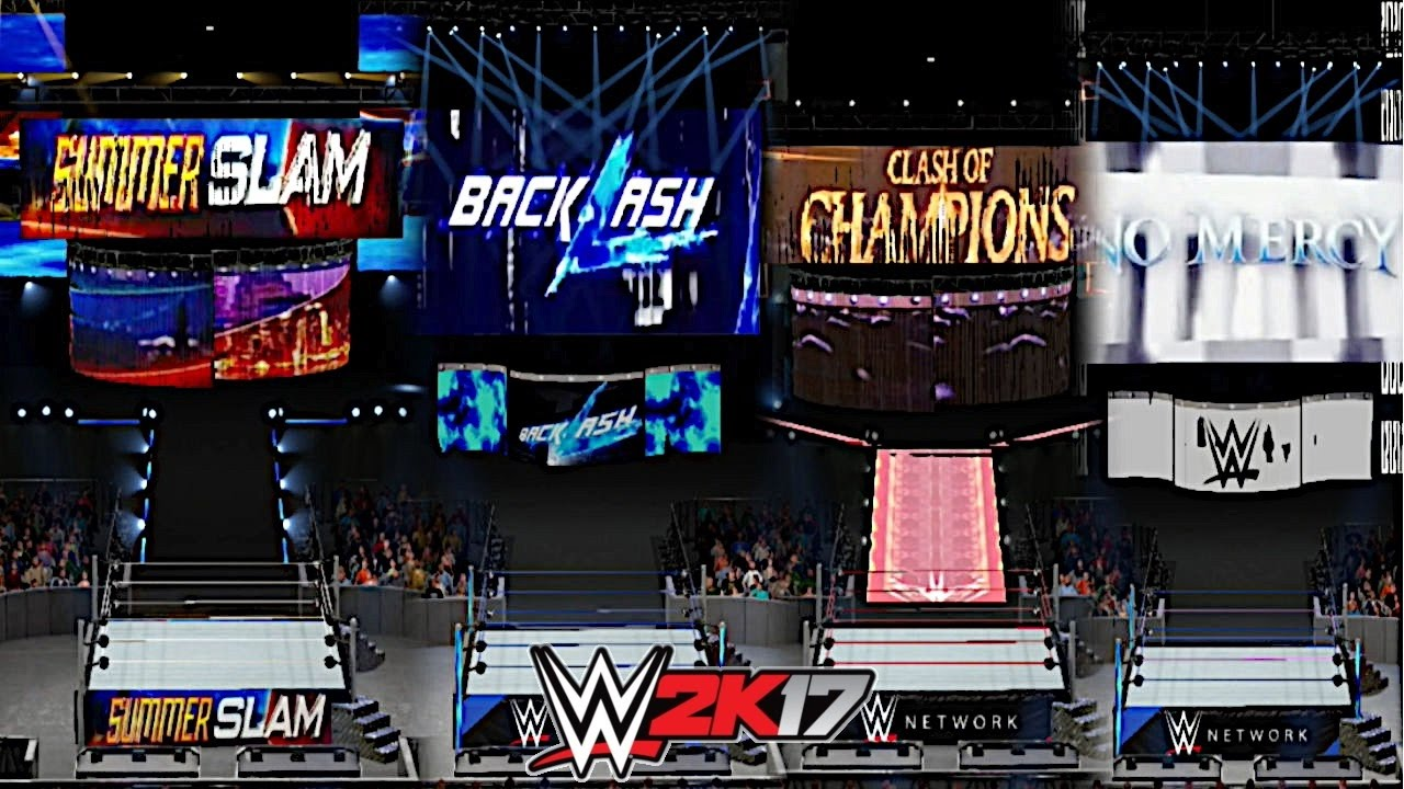 wwe 2k18 how to make a custom theme for ppvs