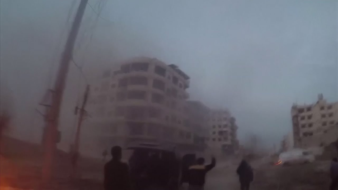Hundreds Killed in Syria's Eastern Ghouta