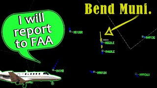 "FRUSTRATED CITATION PILOT at Bend Municipal | ""This is unsafe!"""