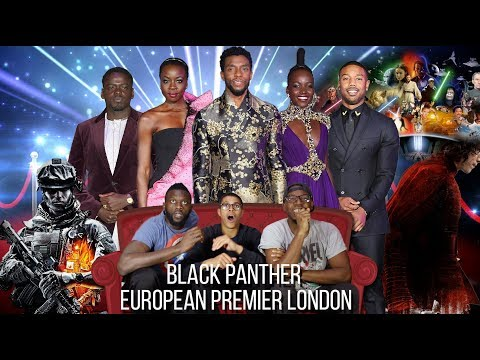 Black Panther - European Premier London