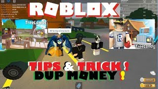 TIPS E TRICK DUPLICATE MONEY ROBLOX TREELANDS BETA