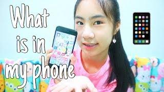 What's in my phone [New phone!] | อะไรอยู่ในโทรศัพท์บ้าง 2019