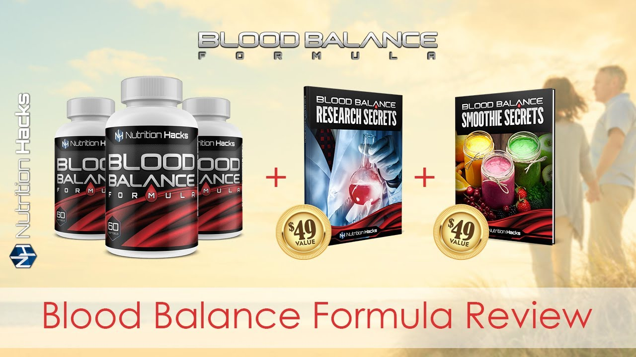 Blood Balance Formula Review-Do Not Buy! Until Watch This..