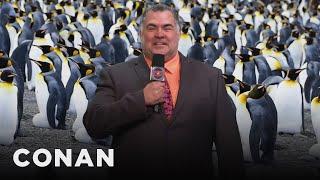 Andy's Sports Blast: Green Screen Correspondent Edition - CONAN on TBS