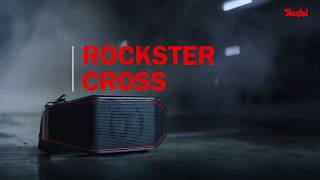 Rockster Cross – Robust Bluetooth stereo speaker for indoor and outdoor use